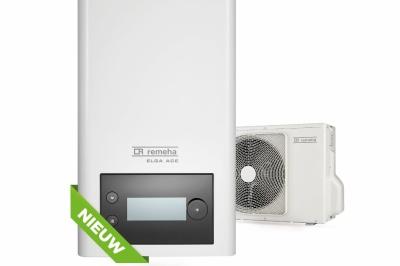 Energieverbruik warmtepomp verminderen met De Elga Ace Hybride warmtepomp