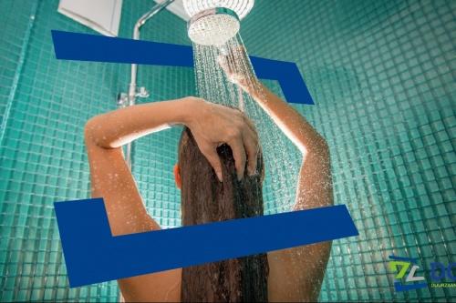 Bespaartip 15: Stap onder de douche in plaats van in bad!